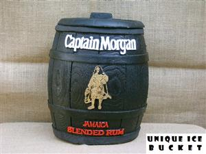 Ice Bucket: Captain Morgan Jamaican Premium Blended Rum. Brand New Product.