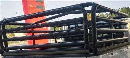 Cattle rails for Toyota Hilux Double Cab