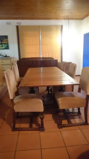 Dining table 1800s