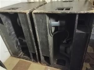 4x 18-inch Bass Bins