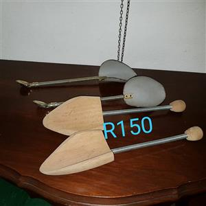 Mini wooden and steel kitchen shovels
