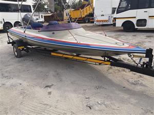 Speedboat 115 Evinrude