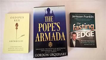 3 Reference books for sale