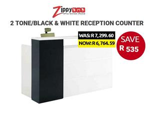 Reception furniture desks/counters for sale at lowest prices.