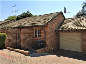 2-Bedroom Simplex Townhouse To Let in Bronberg Park Pretoria East