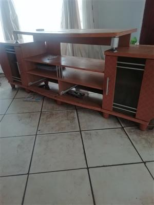 4 piece sofas used and TV stand