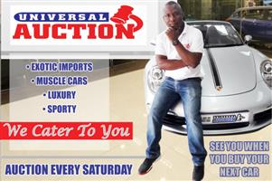 Buy the perfect car for your price at Universal Auction!
