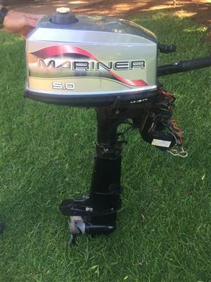 5 Hp Mariner Motor