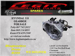 HYUNDAI I10 GEARBOX  FOR SALE