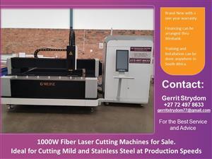 Fiber Laser Cutting Machines for Sale