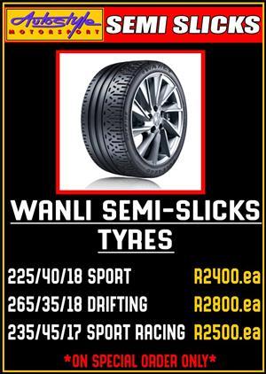 Wanli SEMI SLICKS Tyres