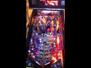 The Transformers Pro Pinball Machine by Stern, available on order