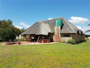 Rus Tevrede Game Lodge in Dinokeng Big 5 Game Reserve for families and friends. Sleep up to 20 people. 50 min. from Pretoria.