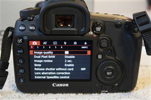Fairly used Canon 5D Mark IV camera