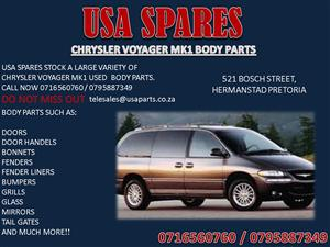 CHRYSLER VOYAGER MK1 USED BODY SPARES FOR SALE
