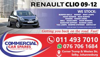 Renault Clio 2009 Spares and parts for sale