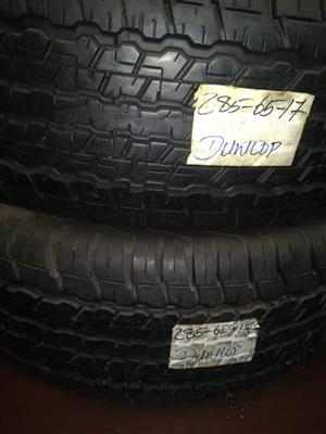 Dunlop tire for sale for R8000 a set for sale