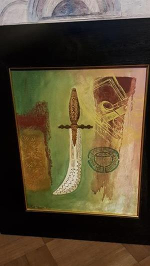 x2 Original paintings of Sue Martin