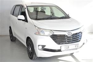 2016 Toyota Avanza AVANZA 1.5 SX A/T