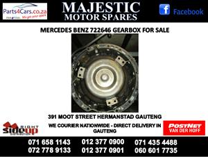 MErcedes benz 646 gearbox for sale