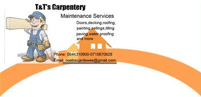 carpentery and handyman services