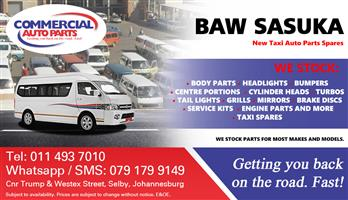 BAW Sasuka Parts and Spares For Sale.