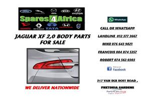 JAGUAR XF 2.0 USED BODY PARTS