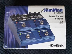 Digitech JamMan Stereo Looper Guitar Pedal (Like New in Box)