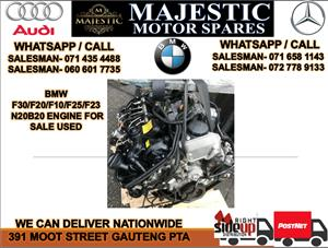 Bmw N20B20 F30 F20 F10 engine for sale