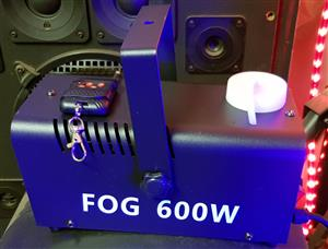 Fog Machine Smoke 600W Disco Party New
