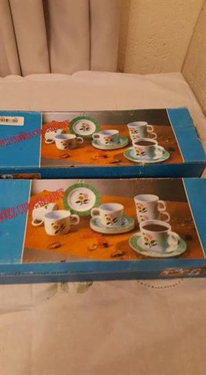 Cup and saucer set for sale