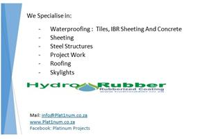 Waterproofing, Maintenance And Construction