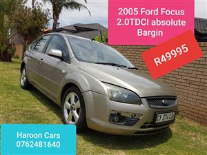 2005 Ford Focus 2.0TDCi 4 door Trend