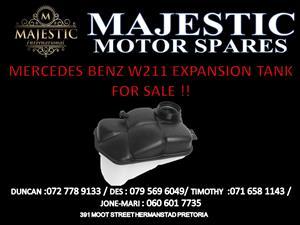 MERCEDES BENZ W211 EXPANSION TANK