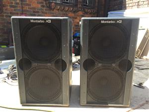 """Montarbo 215SA Dual 15"""" Subwoofers"""