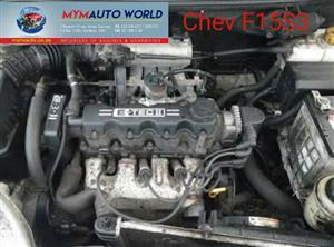 Imported used  CHEV AVEO 1.5L SALOON, F15S3, Complete second hand used engines