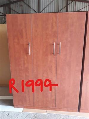 3 Door wooden closet