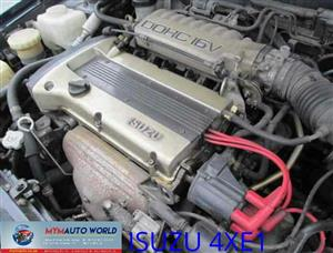 Imported used ISUZU STYLUS/IMPULSE 1.6L DOHC 16V, 4XE1 engine Complete