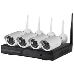 CCTV Wireless 4 Channel NVR Kit, 1.0MP - DIY R3499 FREE Shipping