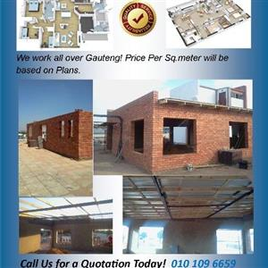 Building Construction, Flatlet, Extra Rooms and any Outside Rooms