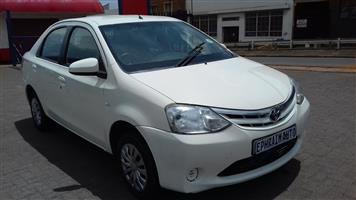 2014 Toyota Etios sedan 1.5 Xs