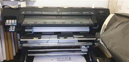 HP Latex Large format Digital Printers L26500 and L25500 For Sale