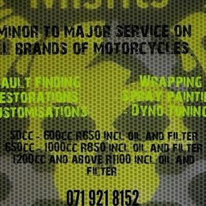 Misfits Motorcycles Cape Town