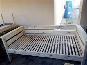 pine wood sleeper couch for sale-call 0835367295