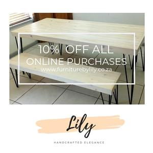 Special on Handcrafted Wooden Furniture