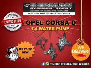 OPEL CORSA D - 1.4 WATER PUMP - SPECIAL DEAL!