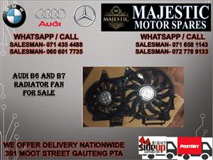 Audi B6 radiator fan for sale
