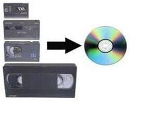 Convert Video and audio to CD or DVD