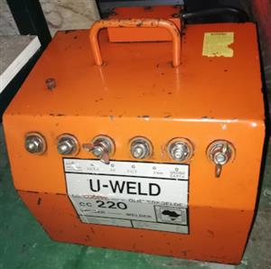 220Amp  Oil Cooled Welder