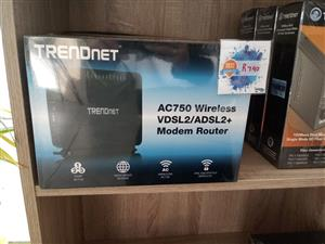 Best Seller: TRENDnet AC750 Wireless VDSL2/ADSL2+ Modem Router
